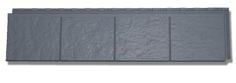 Zierer Dachstreifen 1260x260 mm 1Pak=10St=3,33m2 / 1Pal=110,00m2 Anthrazit