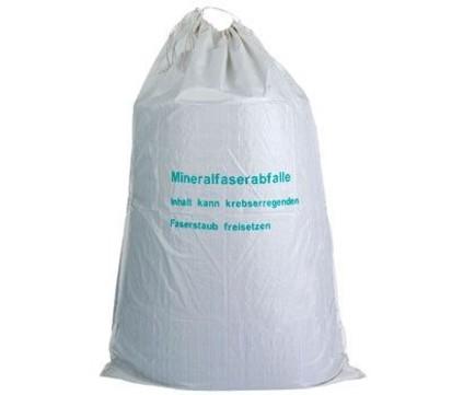 Hauser Mineralwollsack PP-Gewebe 1400/1500x2200 mm, beschichtet mit Bindeband