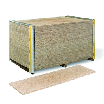 Knauf Insulation Dämmplatte Heraklith-A2-M 35 mm 2000x 600 mm 34,80m2/Pal