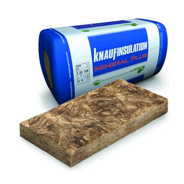 Knauf Insulation Mineral Wool Plus HB 60 mm 1250x 575 mm 12 Stück/Paket WLS 034