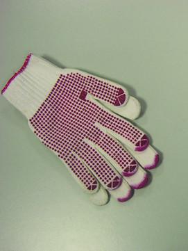 Masc Handschuh für Klempner Gr. XL mit Benoppung, rot