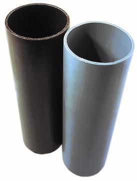 Masc 6-teilige Standrohr rund 1,0 m Color-PE zinkgrau