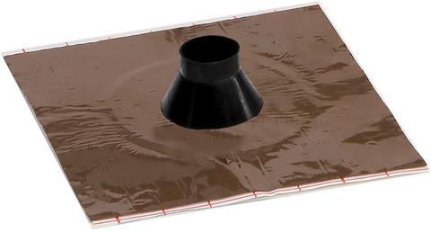 Eisedicht Leitungsmanschette GD 22 25-35 mm mit Alu-Butyl Kleberand EPDM