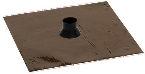 Eisedicht Leitungsmanschette GD25 32-40 mm mit Alu-Butyl 4 Stück je Paket