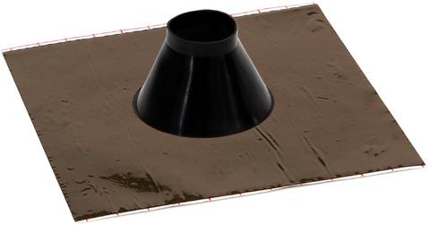 Eisedicht Leitungsmanschette RGD50 50-70 mm mit Alu-Butyl Kleberand EPDM