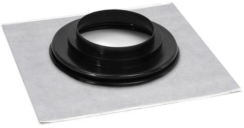 Eisedicht Leitungsmanschette FRGD 150 150-165 mm mit Vlies-Butyl Klebekragen EPDM