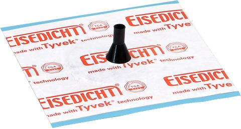 Eisedicht Leitungsmanschette D1 8-11 mm mit Tyvek Klebekragen EPDM