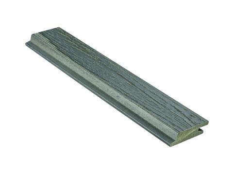 NATURinFORM Fassadenprofil Die Gestaltende small 6 m WPC 18x 70 mm Holzmaserung gebürstet Grafitgrau
