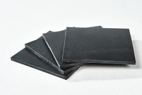 NATURinFORM Gummipad 60x60x 3 mm EPDM 25 Stück/Karton Schwarz