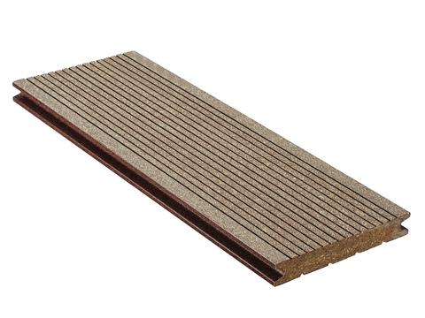 NATURinFORM Massivdiele Die Kompakte 5 m WPC 21x139 mm gebürstet Braun