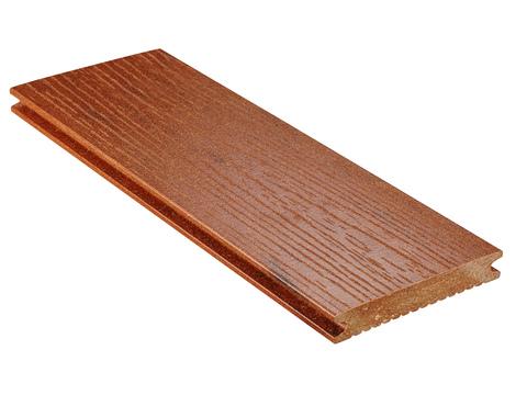 NATURinFORM Massivdiele Naturlinie 6 m WPC 21x139 mm Holzmaserung geriffelt Bernsteinbraun
