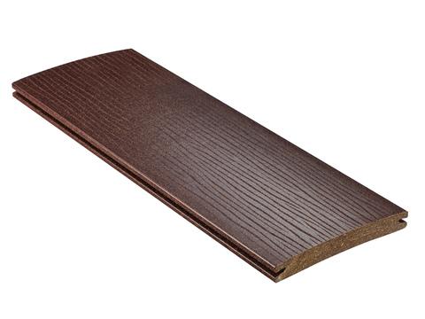 NATURinFORM Massivdiele Smarte 6 m WPC 19x140 mm geprägt ungebürstet Braun