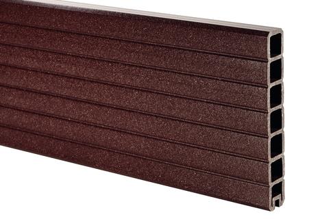 NATURinFORM Abschlussprofil 175x15x2,4cm Der Effektive/Flexible Braun