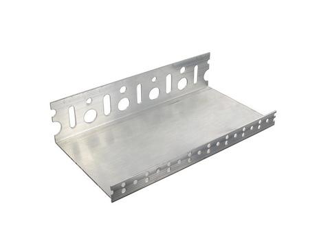 GUTEX Sockelabschlussleiste universal 43 mm 2 m Aluminium
