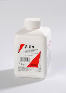 Chemet Lötwasser Z-04 1 kg lasche für Zink