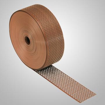 IVT Schutzgitter 100 mm 60,0 m Profirolle Braun