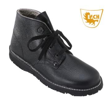 Elch Schuhe hoch mit Lammfell Gr. 44 755