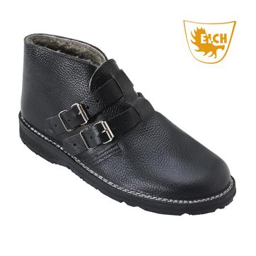 Elch Schuh hoch mit Lammfell Gr. 45