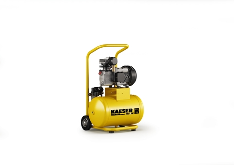 KAE Kompr.Premium comp.350/30W 350l/  4l Behälter f.Baunebeng.