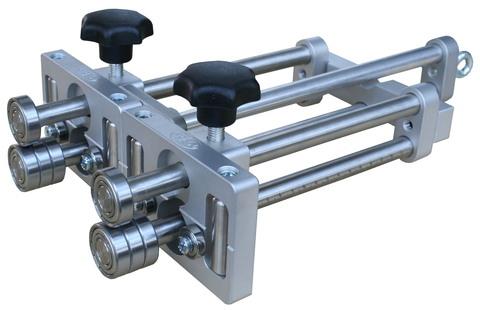 Draenert Duo-Mini-Bender 5-200 mm 0-90 Grad mit 4 Führungsrollen