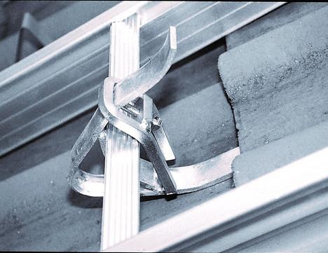 Mauderer Haltefinger 812 für Dachauflegeleiter Aushebesicherung Verzinkt