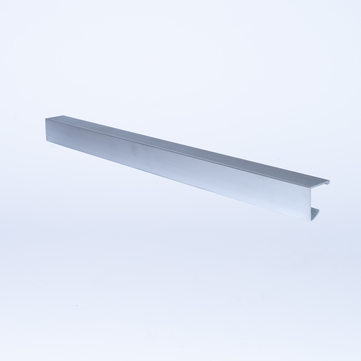 ALURAL Dachrand NB Klemmleiste 0,445 m/Stück Aluminium