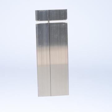 ALURAL Dachrand NB 150 Verbinder Aluminium