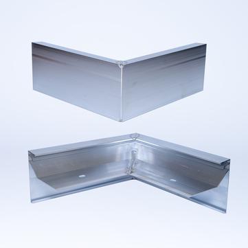 ALURAL Dachrand SB 100 Außeneck Aluminium