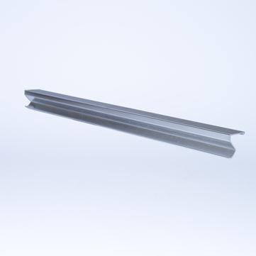 ALURAL Dachrand SB Klemmleiste 0,445 m/Stück Aluminium