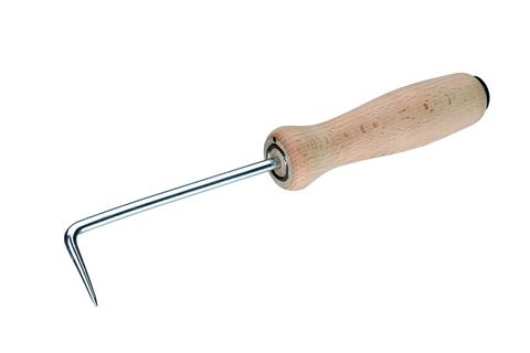 FREUND Nahtprüfer aus Metall 04231000 mit Holzgriff