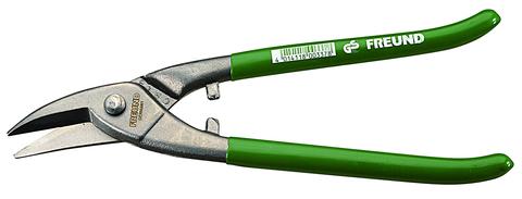 FREUND Lochschere 250 mm links 01221250 Grün