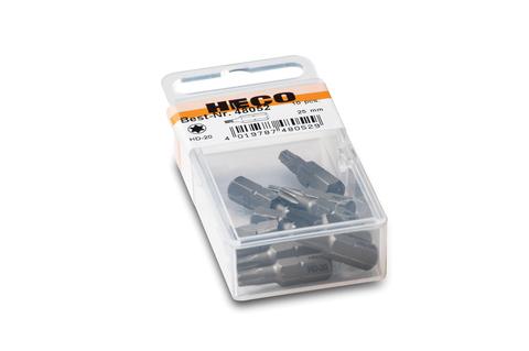 HEC Bits-HECO-Drive HD-20 à 10 Stück beschriftet Blister