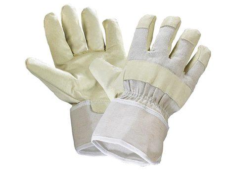 engelbert strauss Handschuh Finger Gr. 10,5 Schweinsvolleder Gelb