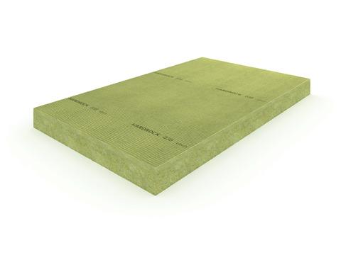 Rockwool Mineralwoll Dämmplatte Hardrock-GF 100 mm 2000x1200 mm WLS 038