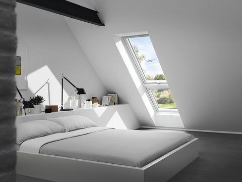 VELUX Fenster-Zusatzelemente unten GIU MK34 0062 78x92 cm Polyurethan Energy Schallschutz