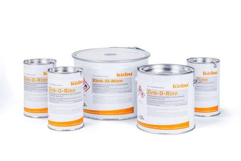 Kebulin Anstrich Zink-O-Rinn 0,85 L RAL 7035 Lichtgrau