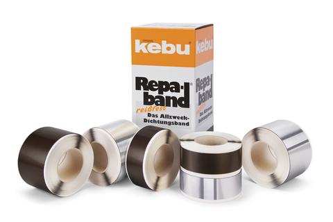 Kebulin KEBU-Repaband 50 mm 10,0 m reißfest Blei