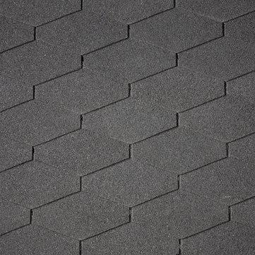 IKO Bitumen Schindel Diamant Plus 01, Dreieck 2,00 m2 je Paket Schwarz