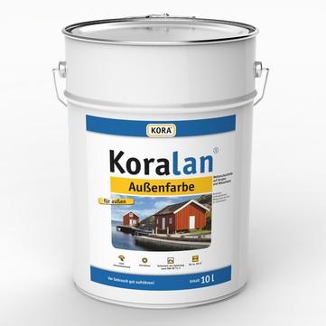 Obermeier Koralan Außenfarbe 10 l RAL 7016 Anthrazitgrau