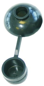 allform Pilzdichtung M7 100St/Btl Schwarz