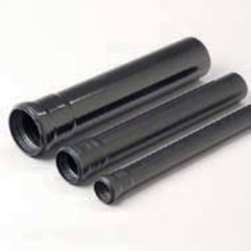 GRU Rohr PVC 100 55cm SCHW