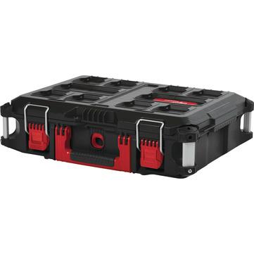 MLW Koffer 560x410x170mm       SCHW PACKOUT m.Metallschließen