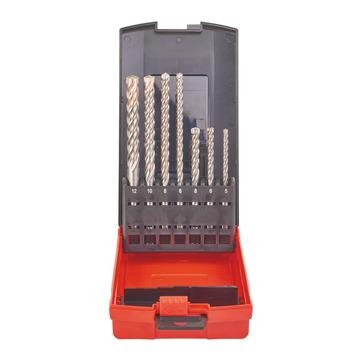 MLW Hammerbohrer MX4 Kass.7tlg. SDS-Plus5/6/8x115,6/8x165,10/12x160