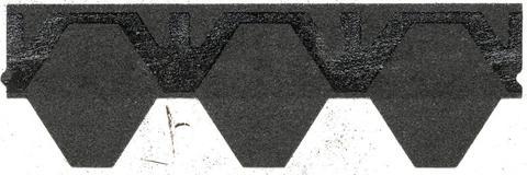 Isola Bitumen Schindel Skraa Wabe 2,95 m2 im Paket 115,05 m2 je Palette Schwarz