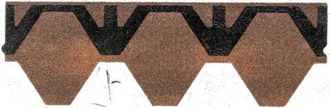 Isola Bitumen Schindel Skraa Wabe 2,95 m2 im Paket 115,05 m2 je Palette Rustikrot