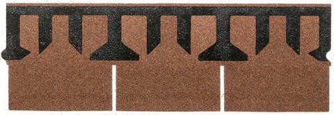 Isola Bitumen Schindel Rett Rechteck 3,15 m2 im Paket 122,85 m2 je Palette Ziegelrot