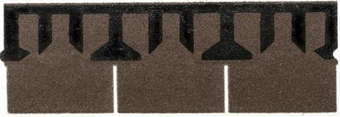 Isola Bitumen Schindel Rett Rechteck 3,15 m2 im Paket 122,85 m2 je Palette Almbraun