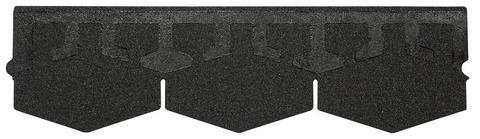Isola Bitumenschindel Karat Premium Dreieck 2,53 m2 98,67m2/Pal Kristallschwarz