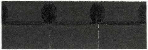 Isola Trauf-/Firststück 0,33x0,33m Schwarz