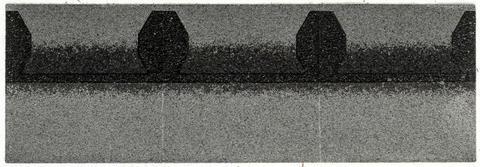 Isola Trauf/Firststück neu Kontur 0,33x0,33 m Schiefergrau